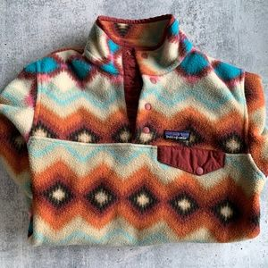 Patagonia Snap T Fleece Neutral Aztec Pullover